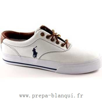 2fae32c2e0c7 Polo Ralph Lauren Cantor Baskets Homme Blanc Chaussures Polo Ralph Lauren  NEW- XTXub8f ... collection ralph lauren femmes ...